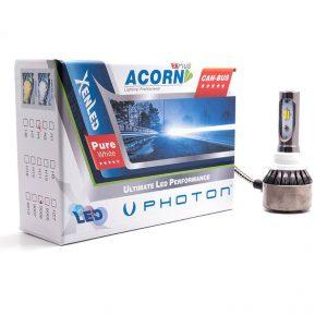 Led Far Ampülü HB4-9006 White Yellow 3 Plus Headlight Photon Acorn